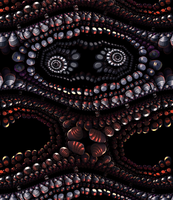 A confused fractal creature by Jakeukalane
