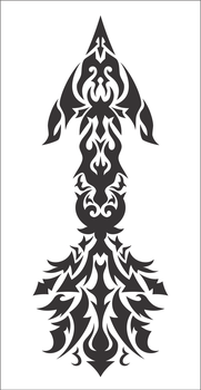 Arrow Tribal for Arm by FlamerXMagofire