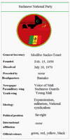Sudanese National Party by tylero79