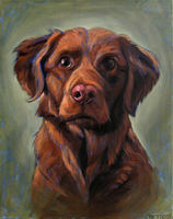 Nesta Dog by paintpixelprint