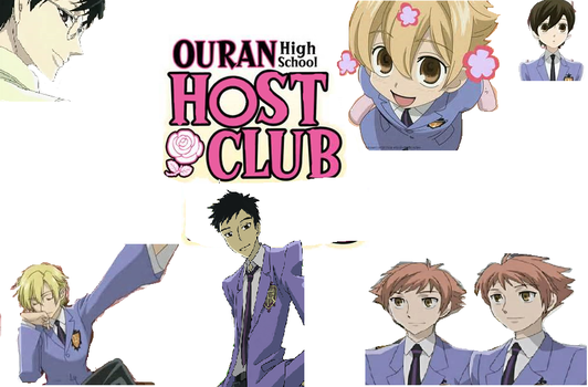 Ouran Host Club Wallpaper by hippo35