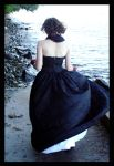 Back of the Hooded Gown by Temperate-Sage