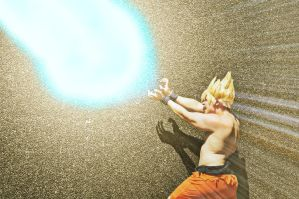 Goku, Super Saiyan Cosplay by ZeroHunter112