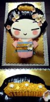 Pucca Cake by CutieFlame
