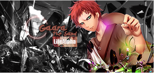 Gaara Signature by LifeAlpha