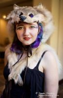 Wolf Headdress at MythicWorlds by lupagreenwolf