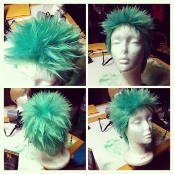 Wig: Roronoa Zoro by Glass-Rose-Prince