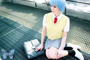 NGE: Rei Ayanami - alternative School Uniform I by Mokuyo