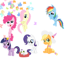 Todas o3o by PinkiePieLovely