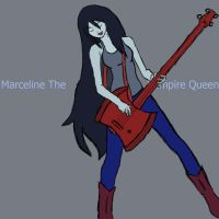 Marceline Scream Queen Of Bass by Spartan20Xt