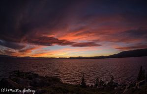 East Shore sunset150925-33 by MartinGollery