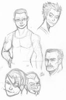 Doing Warmups and reuniting with some old faces by ConstantM0tion