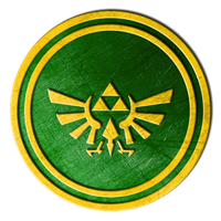 Triforce Medallion (final) by F3I5T