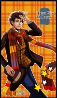 Doctor Who 4th Doctor by skylord1015