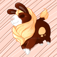 Neopets: Chocolate Gnorbu by Xeohelios