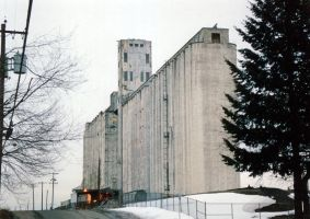 Grain Elevator 2 by mackilvane