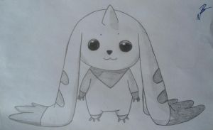 Terriermon (Digimon) by RyuFujin4