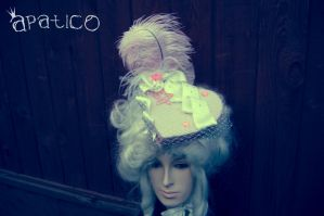 Sweet Pink Heart Shaped Hat by apatico
