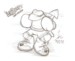 Lagoon Pencil Sketch by OutLeaf