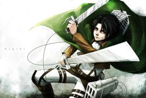 Rivaille by Ajgiel