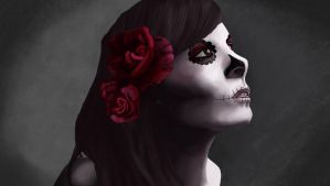 Day of the dead study. by straightx