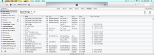 What do you think of the new iTunes 11 layout? by Flutterflyraptor