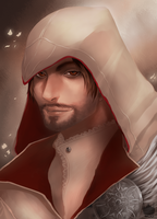 Ezio Auditore da Firenze by chickenoverlord