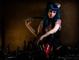 Cotton Candy Pirate by DinaDayMakeup