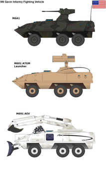 M6 Gavin Infantry Fighting Vehicle by PaintFan08