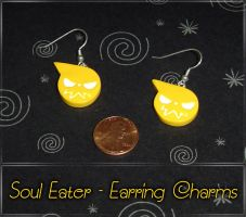 Soul Eater Logo Earring Charms by YellerCrakka