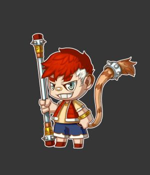 Wukon chibi style by NewHuynh