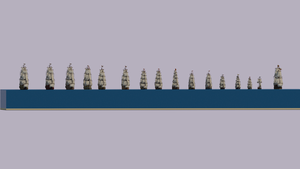 Napoleonic Fleet by Sillouete