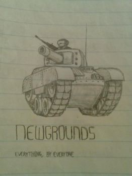 Newgrounds Tank by x-SkaiGuardian-x