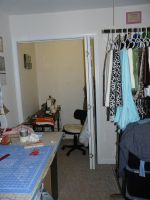 The sewing area by Eliea