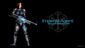 Imperial Agent SWTOR Wallpaper by DromCZ