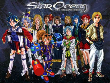 Star Ocean:The Second Story by Tidan-Likida