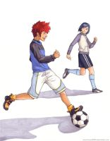 Digimon Soccer: for bluucircles by firewolf826