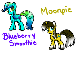 Blueberry Smoothie and Moonpie - OPEN! by Moon-DaZzLe