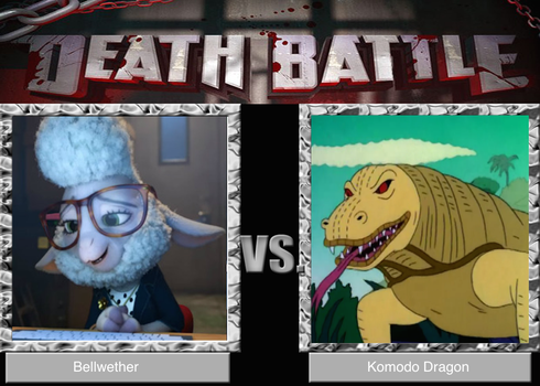 Death Battle: A Blast From Zootopia's Past by Komodo-Lancer