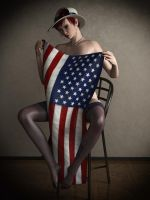 US Old Pinup Modern Style by Digital3Dgrirls