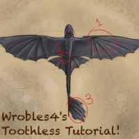 Toothless Tutorial by wrobles4