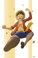 Luffy - 2 Years Later by Calick
