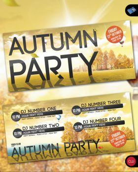 Autumn Party - Flyer Template by isoarts2