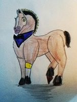 Sir Reginald the Horse by ApocaWarCry