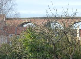 Yarm Viaduct in December by illusiveexistence