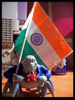 Independence Day of India by ScorpioJotan