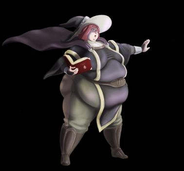 Fat Miriel by Eishiban