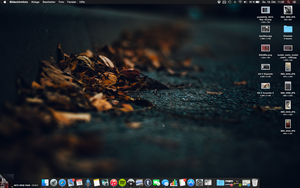 OS X Yosemite Dark by Tequi13