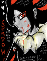 Tegaki: Shadow Human Form by Akila-Ishtar
