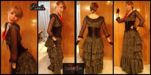 Mi vestido Mrs.Lovett by Esthervampire